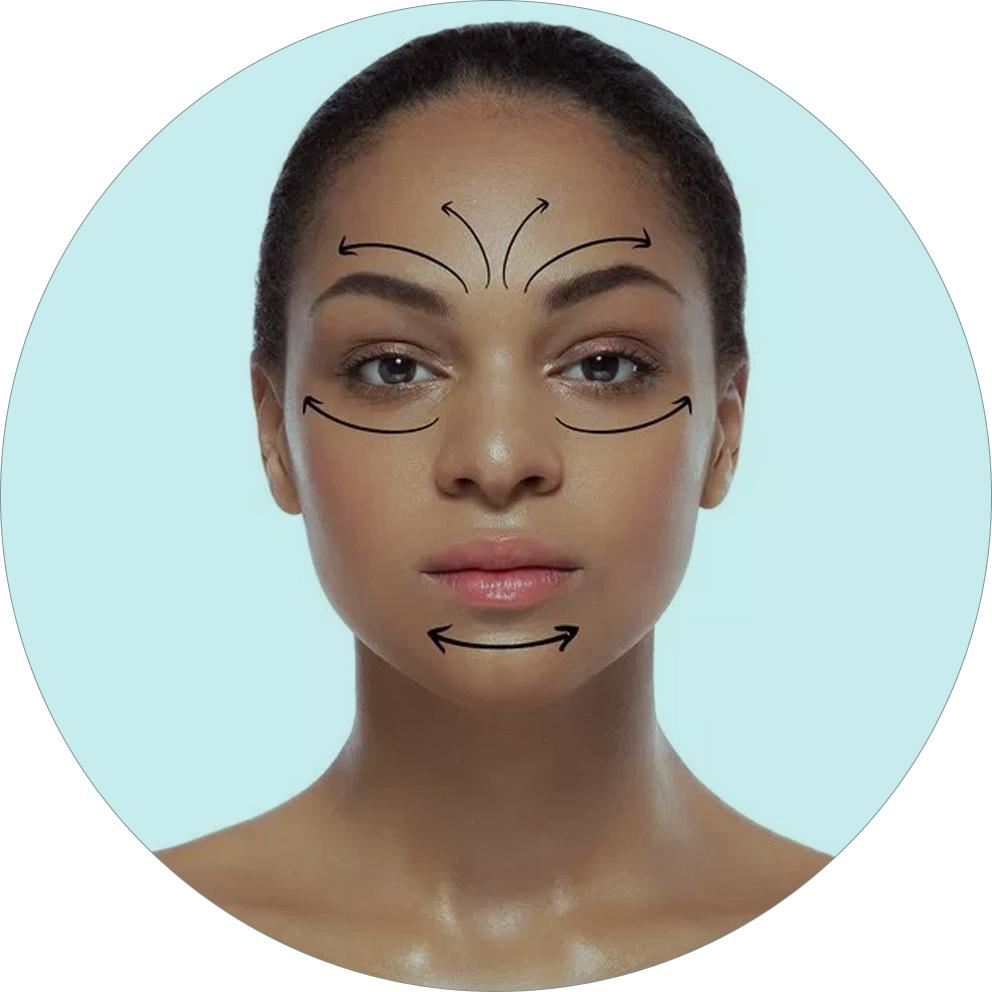 cirurgia de ritidoplastia ou lifting facial